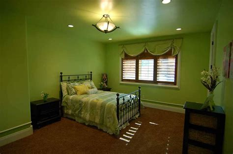 Wonderful Bedroom Ideas With Lime Green Walls