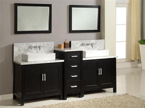 torrington double vessel sink vanity espresso