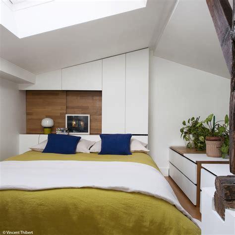 surface minimum d une chambre suite parentale avec salle de bain sous comble