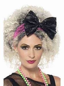80s Lace Headband - 41579 - Fancy Dress Ball