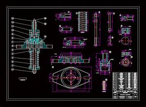 Assembly And Parts Dwg Block For Autocad  U2013 Designs Cad