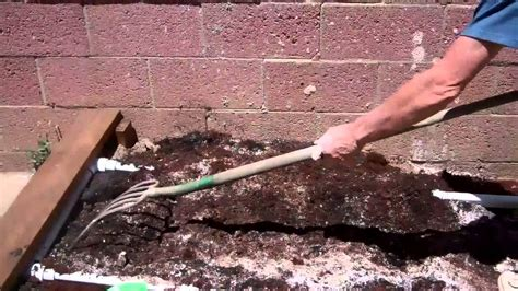 adding topsoil to garden building raised bed gardens part 2 adding the soil amendments youtube
