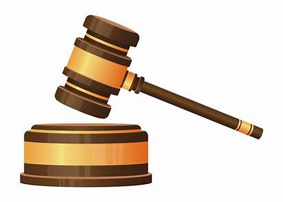 Hammer Judge Vector Isolated Clipart