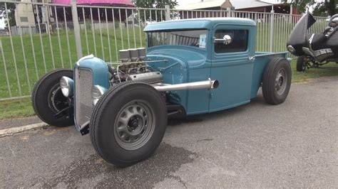 Ford Hot Rod Rat Pickup Truck Youtube
