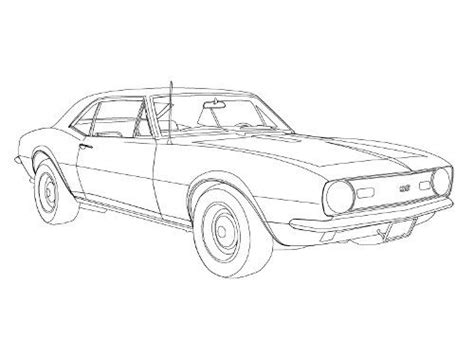Camaro Coloring Pages - Eskayalitim