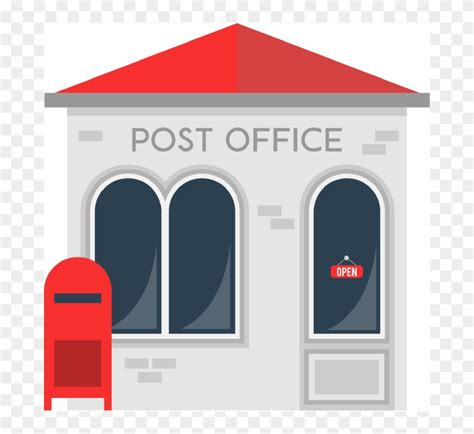 Post Office Clipart Post Office Building Clipart Post Office Free