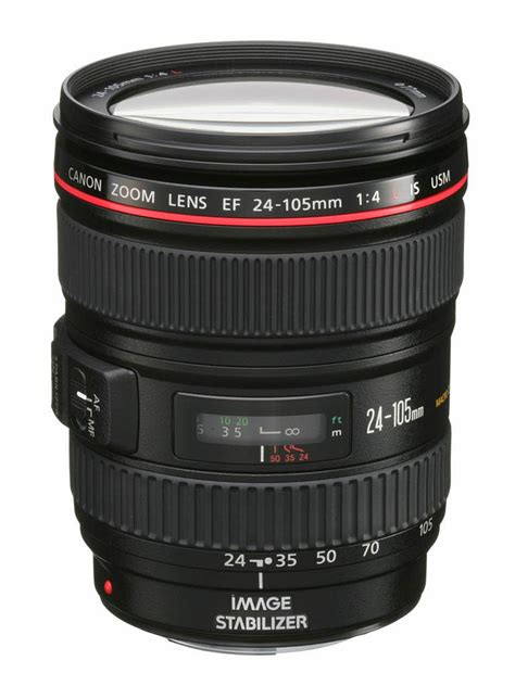 canon ef 24 105mm f 4l is usm interchangeable lens review