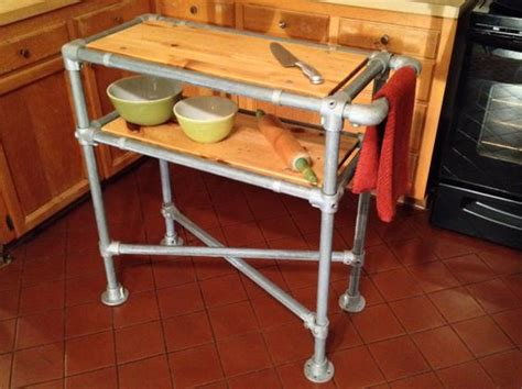 pipe kitchen island kitchen island industrial reclaimed wood by 1526
