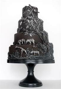and black wedding cakes wedding cakes pictures black and silver wedding cake