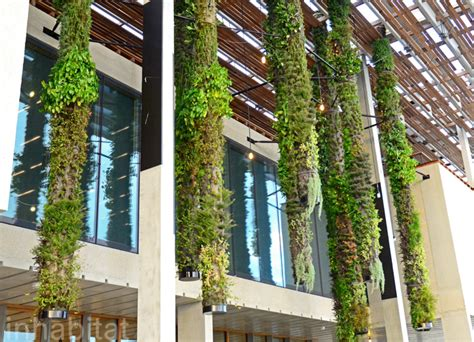 Hanging Vertical Garden by Patric Blanc Perez Musuem Hanging Vertical Garden