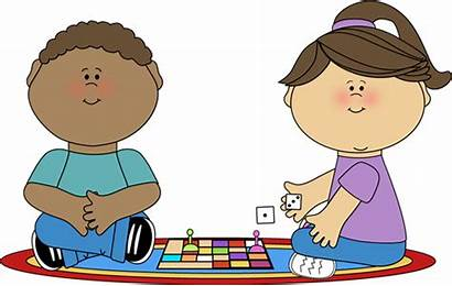 Playing Games Board Child Clip Play Children