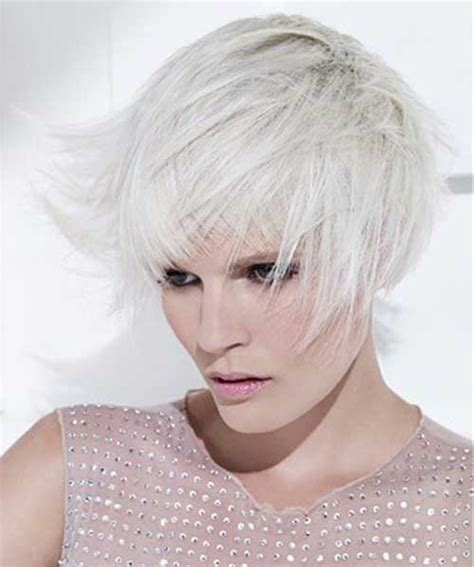 short white hair for women the best short hairstyles for