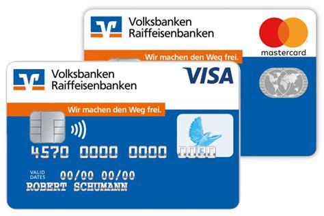 kreditkarte beantragen auswahl volksbank  der ortenau