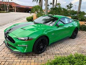 New Mustang color options for 2019! Need for Green and Velocity Blue