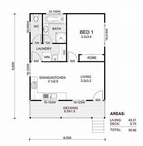 granny flats prefabricated and transportable granny flats With 1 bedroom floor plan granny flat
