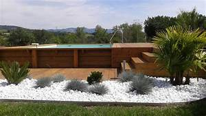 emejing exemple terrasse ideas seiunkelus seiunkelus With comment faire une terrasse en gravier