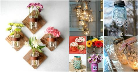brilliantly decorative mason jar home decorating