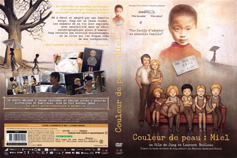 jaquette dvd de couleur de peau miel cinema passion