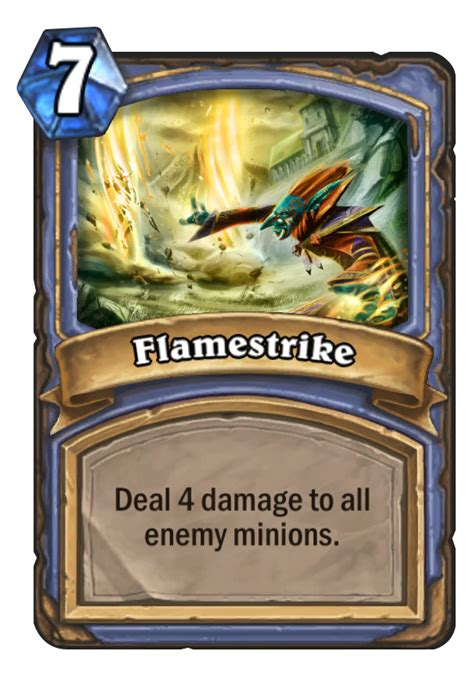 basic shaman deck hearthstone 2014 flamestrike hearthstone card