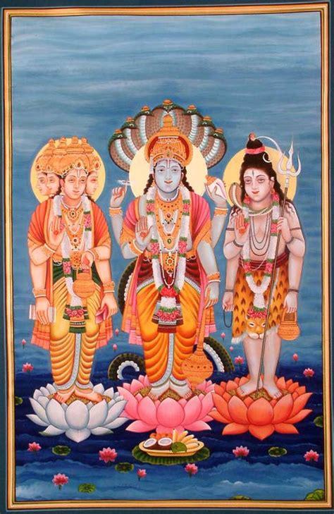 trinity  brahma vishnu  mahesha