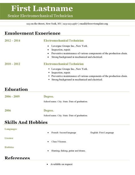 resume templates open office project scope template