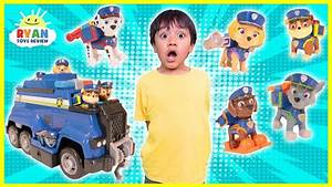 Ryan and the PAW Patrol Pups play HIDE AND SEEK to go on ...