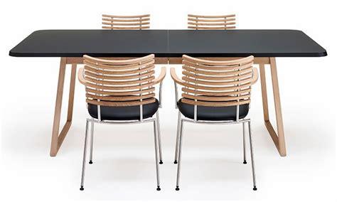 plateau de bureau en verre table de salle à manger extensible twist nano avec plateau