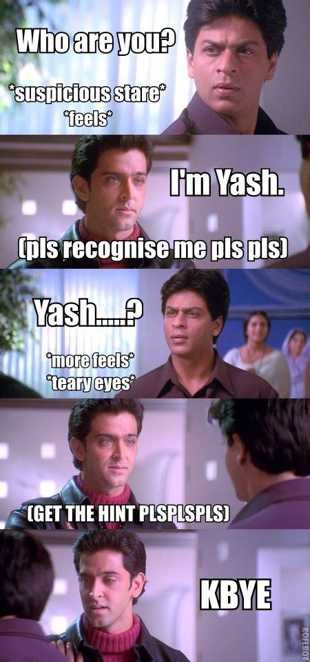 khabi khushi khabie gham quotes