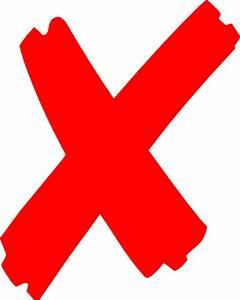 X Mark Clip Art Cliparts Suggest Cliparts Vectors