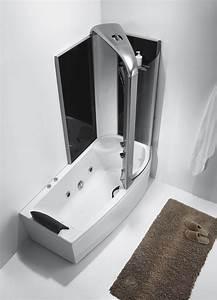 Baignoire Douche Balneo : baignoire douche 2 en 1 ~ Melissatoandfro.com Idées de Décoration