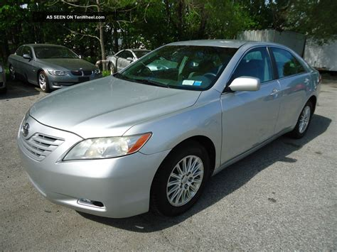 Toyota 2007 Camry by 2007 Toyota Camry Le Sedan 2 4l 4cyl Drives Great