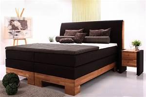 Boxspringbett 180x200 Sale : houten bed in beukenhout of eikenhout ~ Indierocktalk.com Haus und Dekorationen