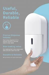 New 1000ml Abs Wall Mounted Manual Foam Soap Dispenser