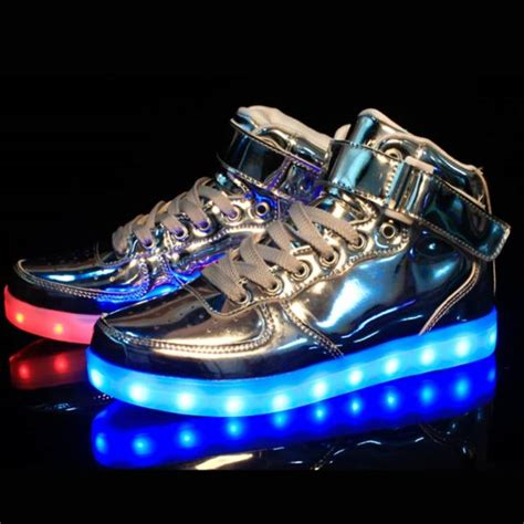 led light up sneakers 10 led shoes that light up at the bottom and change colors