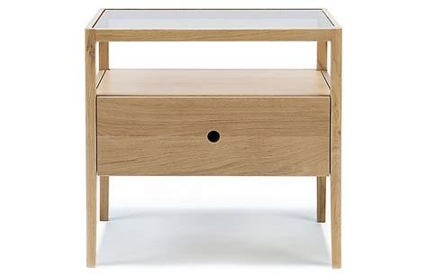 Spindle Nightstand by Spindle Nightstand Oak Storage 650 Shop By