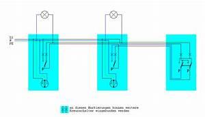 Serienschalter Wechselschalter Unterschied : kreuzschaltung mit 3 schaltern und 2 lampen seite 2 ~ Lizthompson.info Haus und Dekorationen