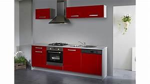Hochglanz Küche Rot : simply single k che rot hochglanz grau 245 cm ~ Sanjose-hotels-ca.com Haus und Dekorationen