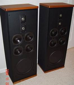 Vintage Polk Audio Speakers  Sda 1c  Real Wood
