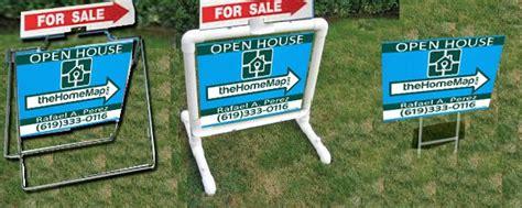 diy real estate yard sign