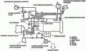 1995 Nissan Sentra Vacuum Diagram