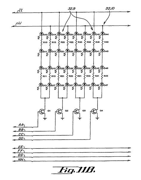 patent us7561036 led warning signal light and light bar