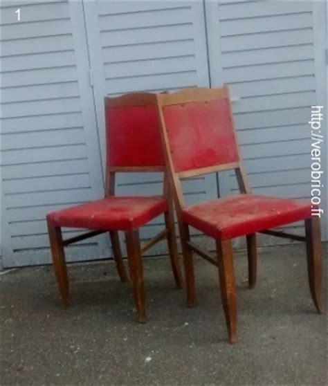 tapisser une chaise comment tapisser une chaise 28 images comment r 233