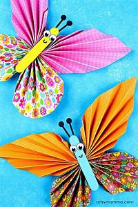 7, Easy, Kids, Accordion, Fold, Paper, Crafts