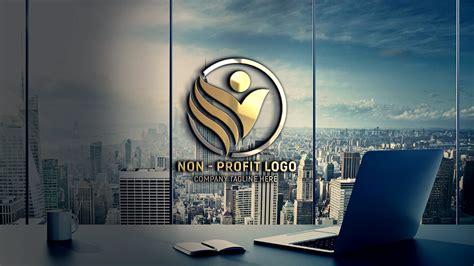 profit company logo design  psd template