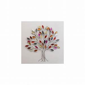 Arbre De Vie Decoration Murale : d coration murale en m tal en forme d 39 arbre ~ Teatrodelosmanantiales.com Idées de Décoration