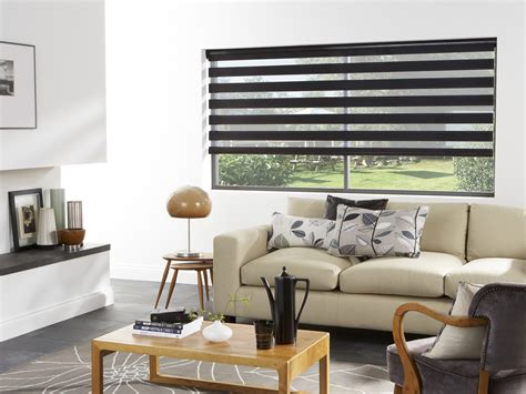 zebra roller blinds stylish  versatile vision blinds