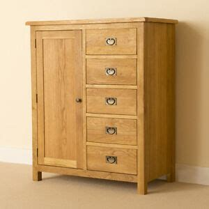 Single Wardrobe With Drawers lanner oak combination wardrobe rustic solid wood low