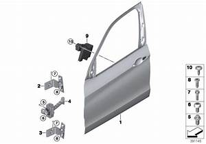 Bmw X5 Door Front Left  Body  Trim - 41517386737