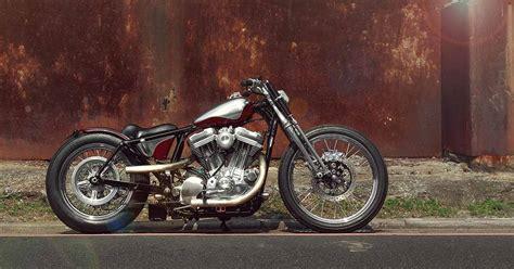 A Harley Sportster Bobber From 2loud