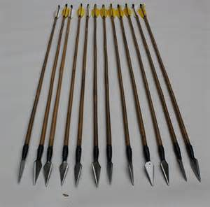 Traditional Wood Arrows Hunting